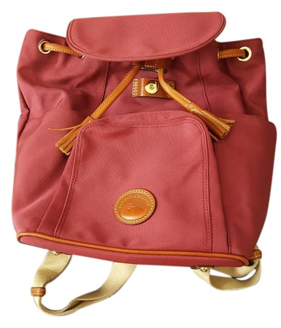 Item - Maroon/Red Canvas Backpack