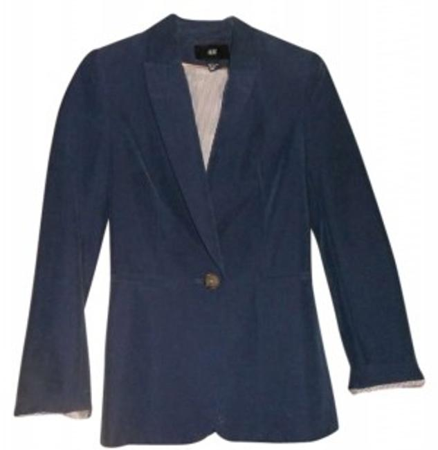 Preload https://item2.tradesy.com/images/h-and-m-dark-blue-blazer-size-2-xs-173776-0-0.jpg?width=400&height=650