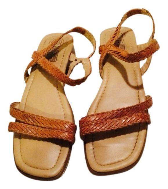 Faded Glory Caramel Sandals Size US 8 Regular (M, B) Faded Glory Caramel Sandals Size US 8 Regular (M, B) Image 1