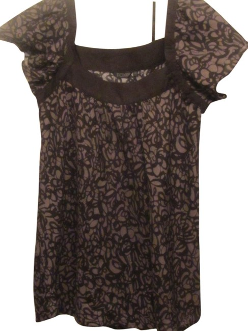Preload https://item5.tradesy.com/images/fox-black-and-grey-peasant-blouse-size-16-xl-plus-0x-1737849-0-0.jpg?width=400&height=650