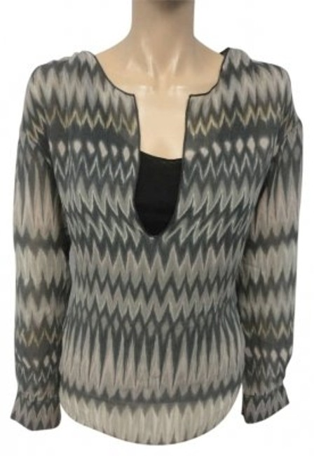 Preload https://img-static.tradesy.com/item/173790/graham-and-spencer-gray-scale-ikat-print-blouse-size-6-s-0-0-650-650.jpg