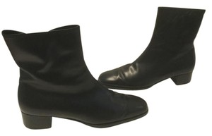 Salvatore Ferragamo Lining Black leather ankle Boots