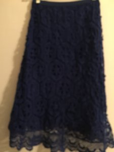 Anthropologie Skirt Royal blue