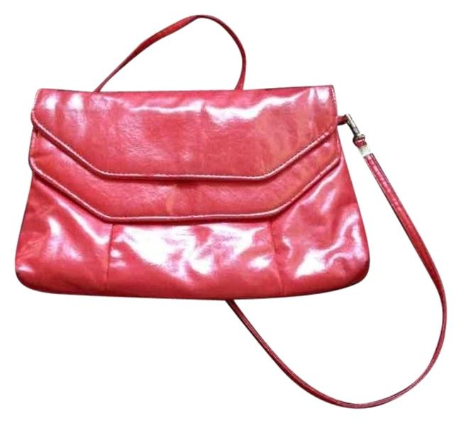 Fashion Bug Red Polyester Clutch Fashion Bug Red Polyester Clutch Image 1