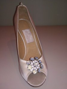 Lanvin Lanvin Peep Toe Crystal Wedding Shoes