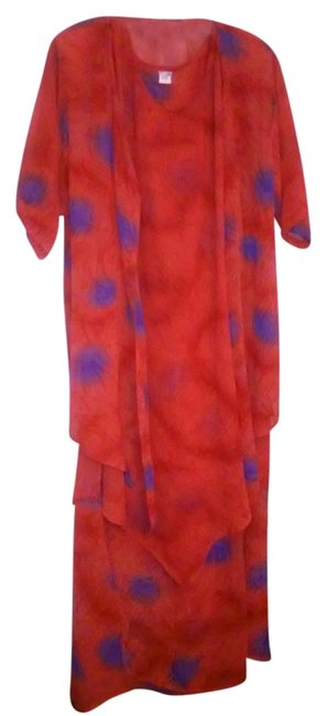 Preload https://item3.tradesy.com/images/kirpa-dress-red-with-blue-print-1738152-0-1.jpg?width=400&height=650