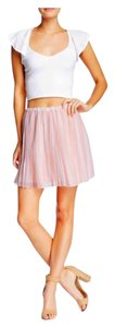 BCBGeneration Mini Skirt Pastel coral combo