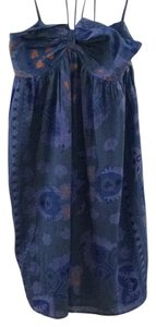 Antik Batik short dress Blue on Tradesy