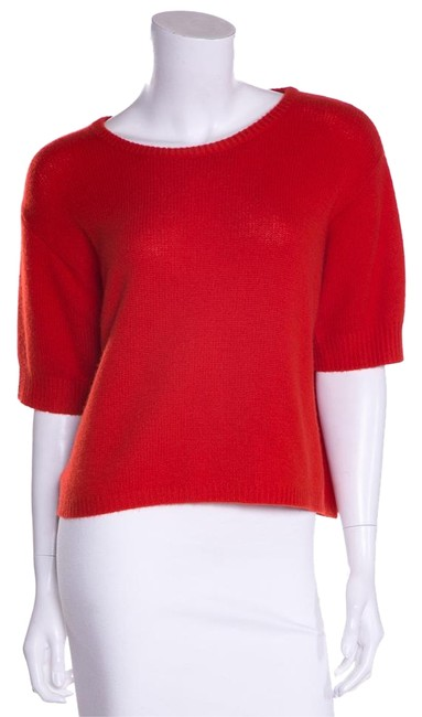 Item - Cashmere Orange/Red Sweater