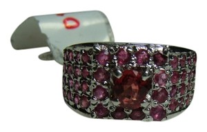 Stunning 1.3 Carat Ruby Ring set In Sterling Silver with Appraisal-Reduced!