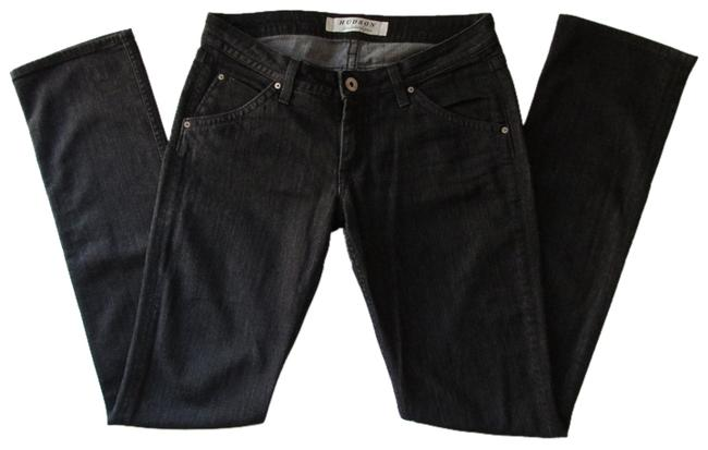 Item - Black Dark Rinse Boot Cut Jeans Size 29 (6, M)