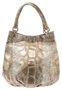 Nancy Gonzalez Python Molurus Shoulder Bag