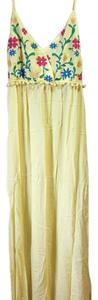 Yellow Maxi Dress by Kori America