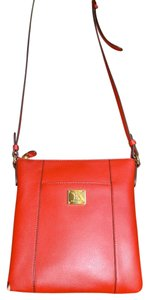 Ralph Lauren Leather Adgond Signature Cross Body Bag