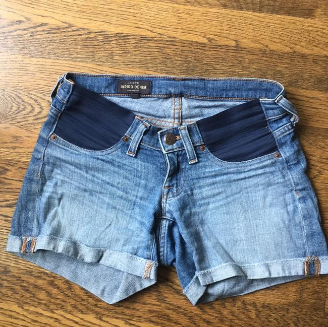 J.Crew Stretch Denim Maternity Short