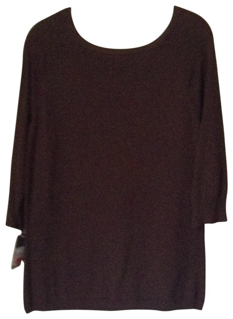 Preload https://item2.tradesy.com/images/merona-chocolate-briwn-sweaterpullover-size-14-l-173856-0-0.jpg?width=400&height=650