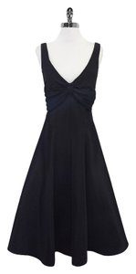 Nicole Miller Black Sleeveless Full Princess Style Dress