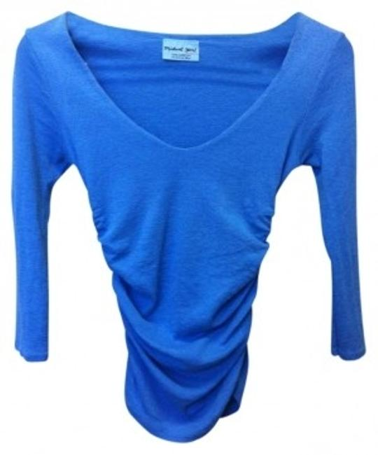 Preload https://img-static.tradesy.com/item/173858/michael-stars-aqua-blue-made-in-the-usa-night-out-top-size-os-one-size-0-0-650-650.jpg