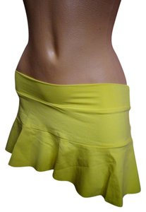 Becca by Rebecca Virtue BECCA SWIM SKIRT COVER UP YELLOW SPRING SUMMER PINUP MINI
