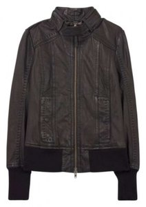 Mackage Elie Artizia Leather brown Leather Jacket