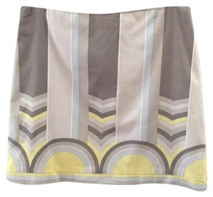 Elie Tahari Mini Skirt Gray