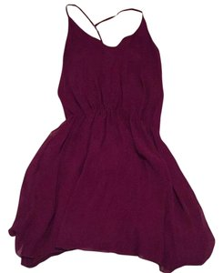 Alice + Olivia short dress Purple on Tradesy