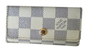 Louis Vuitton Louis Vuitton Damier Azur Multicles 4 Ring Key Case