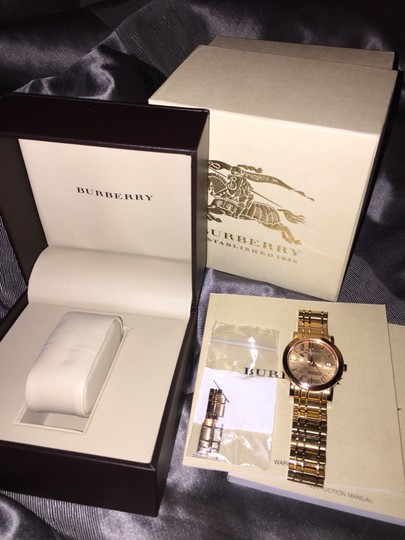 Burberry Burberry Rose Gold Watch