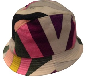 72a6ea2c036 Emilio Pucci Emilio Pucci Multi-Colored Bucket Hat EMI21643