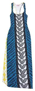 Maxi Dress by Mara Hoffman Abstract Print Racer Back Maxi