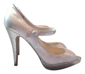 Steven by Steve Madden silver Pumps