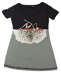 Love Moschino T Shirt Black/Grey