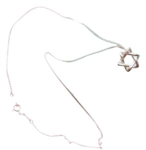 Tiffany & Co. Star of David 925 silver necklace