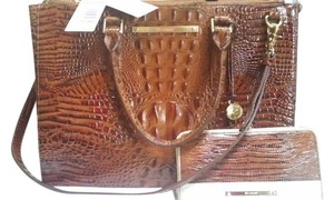 Brahmin Tote in Toasted Almond