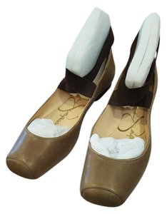 Jessica Simpson Ballet Casual Coffee/Tobacco Flats