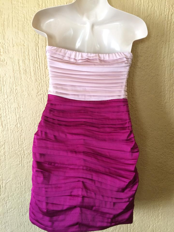 Express Raspberry Shell Pink New with Tags Short Cocktail Dress Size ...