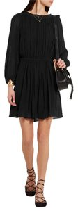 Étoile Isabel Marant short dress Black Georgette Mini on Tradesy