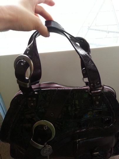 Dior Tote in Black Patent