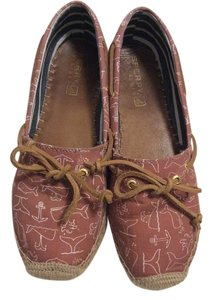 Sperry Whales Espadrilles Katama Red Flats