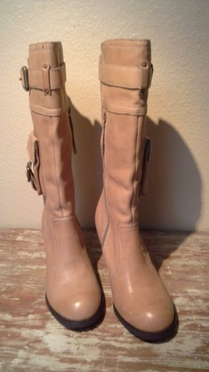 Report Signature Leather tan Boots