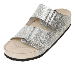 Giambattista Valli Silver Sandals