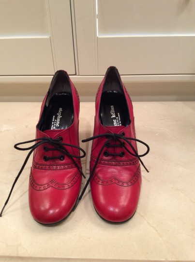 Stephane Kelian Vintage Lace-up RED Boots