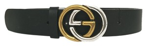 Gucci Gucci Belt Black Leather Size 85