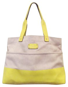 Kate Spade Tote in Natural/Yellow