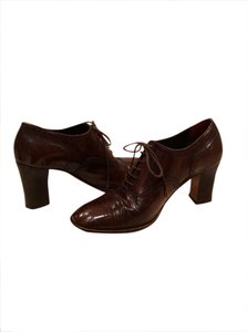 Stephane Kelian Vintage Lace-up Bootie BROWN Boots