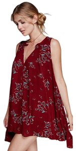 Free People short dress Crimson on Tradesy