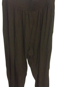 H&M Stretchy Relaxed Pants Green