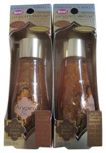 Physicians Formula Argan Wear Ultra-Nourishing Illuminating Argan Oil, 6406 - Lot of 2