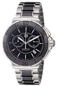 TAG Heuer Tag Heuer Womens Formula 1 Silver Black With Ceremic