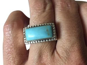 Other Southwestern Sterling Silver with Turquoise Stone